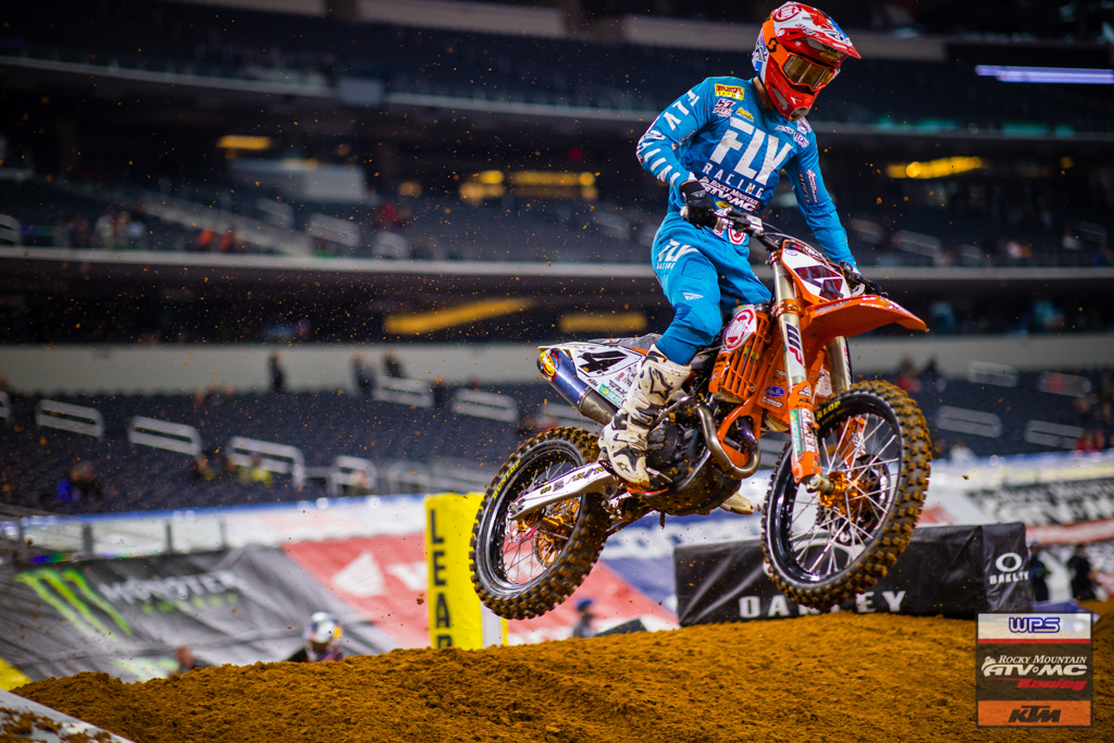 Baggett returns to form and finishes 4th at Arlington SX